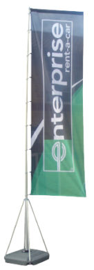 EasyStands - EasyBanner Water Flag 5m